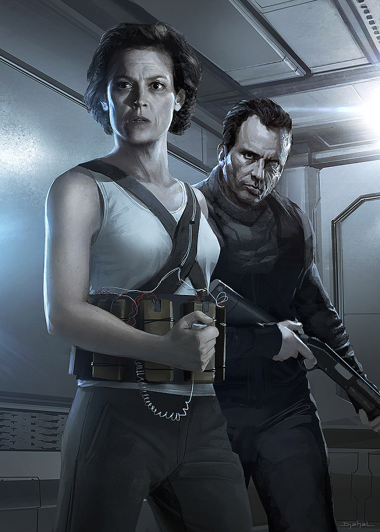 alien-5-neill-blomkamp-together-hicks-and-ripley-artwork-by-geoffroy-thoorens (1)